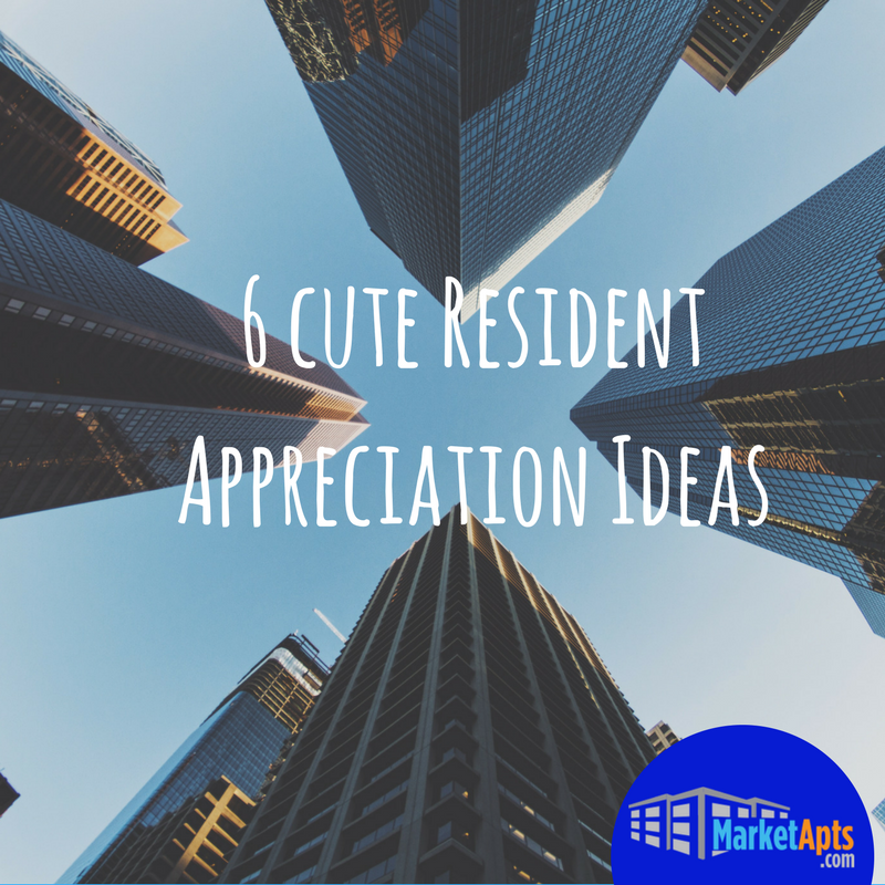 Want show resident appreciation? Click here!