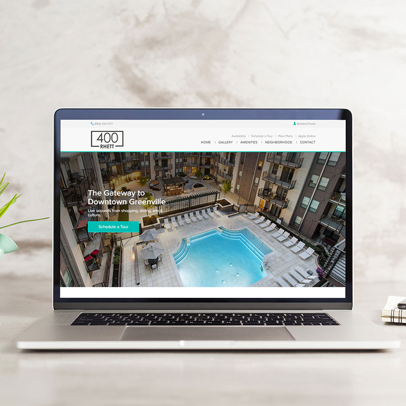New Website Templates for Apartments