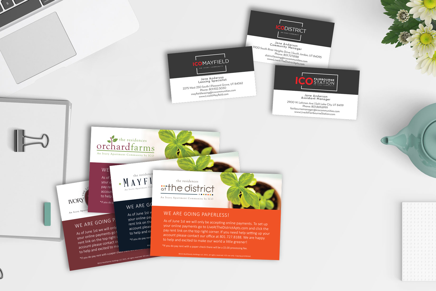 Take advantage of our printmaking services with these business cards