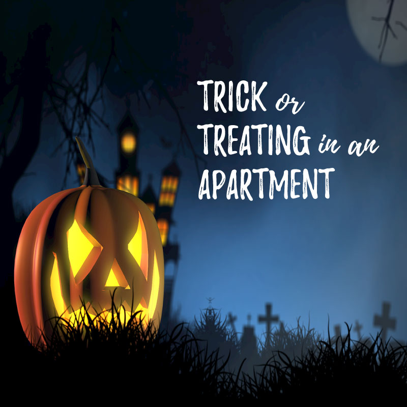 Trick or Treating for an apartment