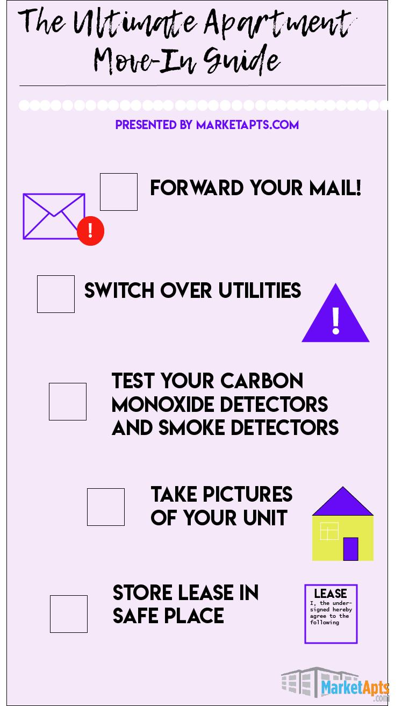 The Ultimate Apartment Move-in Checklist