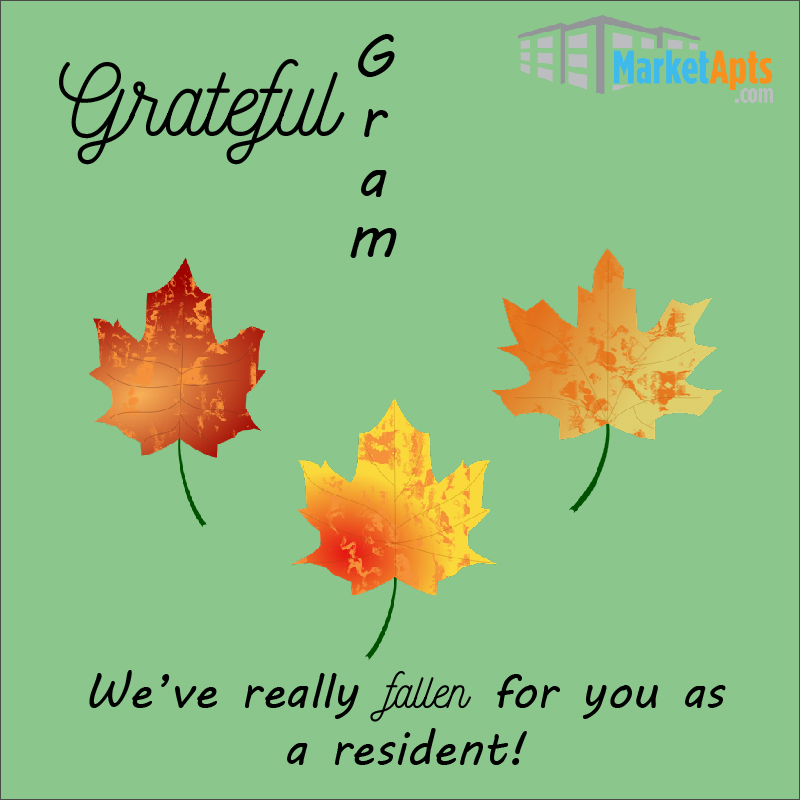 Grateful Grams for your residents