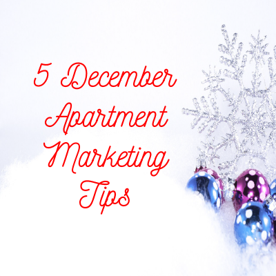 Apartment Marketing Tips for December