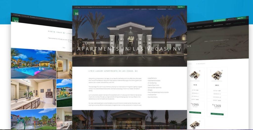 Apartment Digital Marketing Past Work
