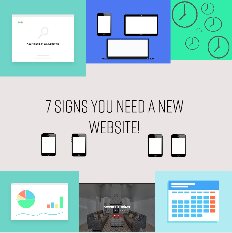 Apartments Websites: 7 Signs Your Apartment Website Needs An Upgrade! : Market