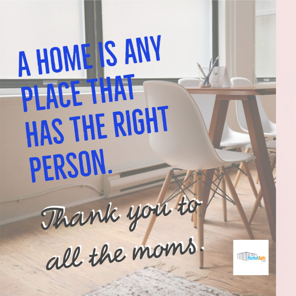 Apartment Mother's Day cards