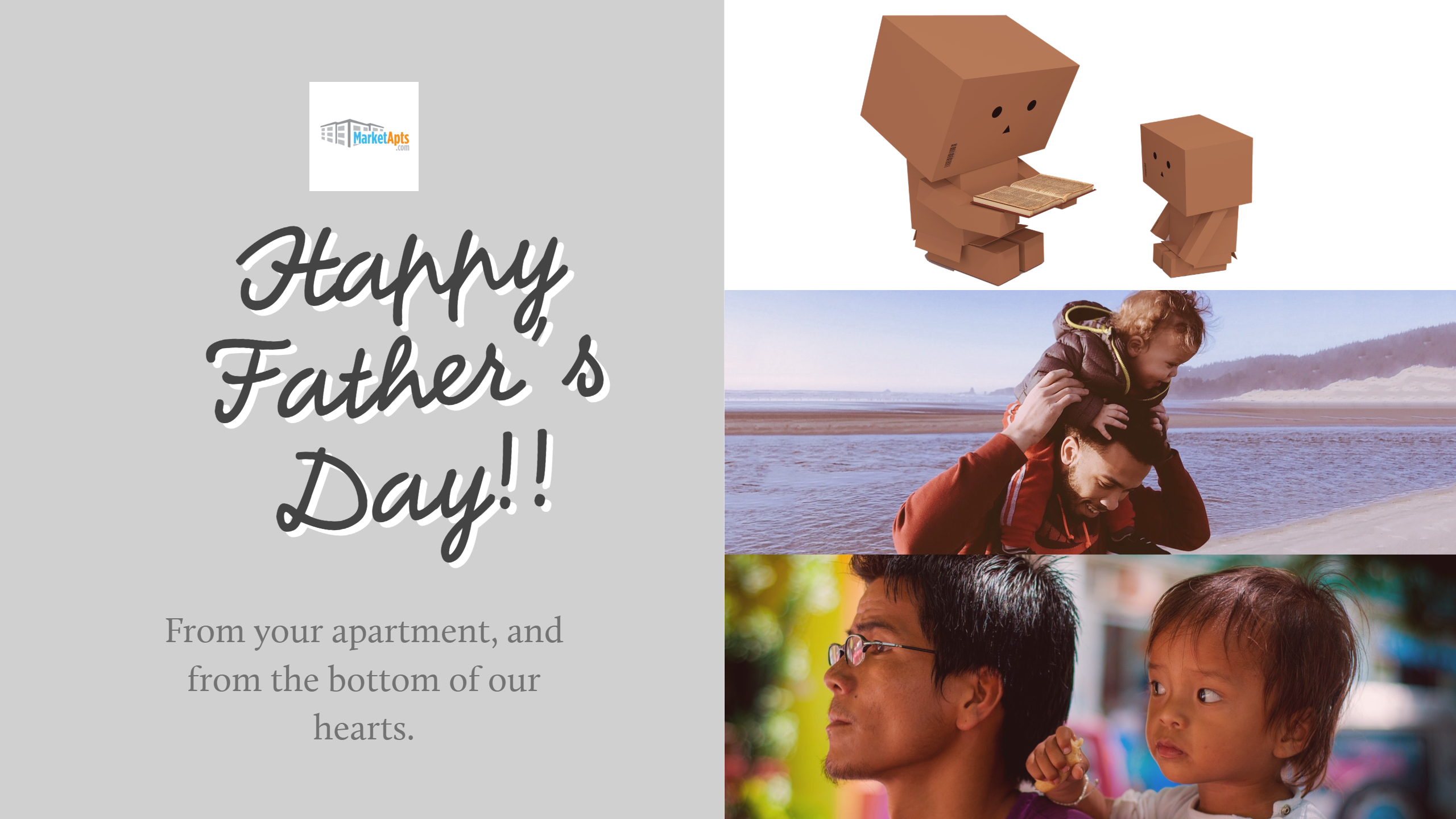 Happy Father's Day from your apartment!