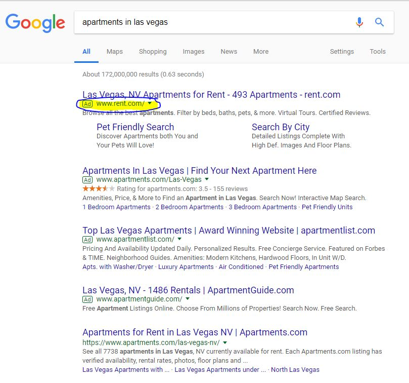 PPC for Apartment Marketing