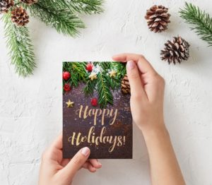 Holiday Cards | Apartment Marketing Ideas for December