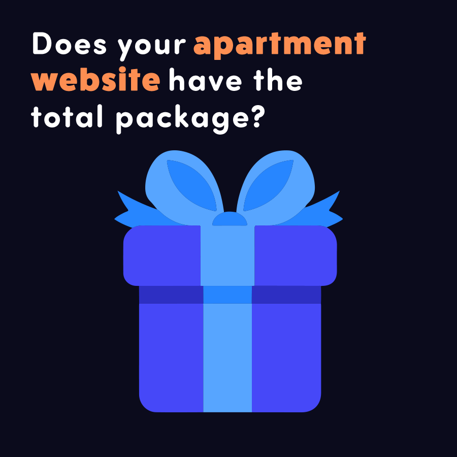 Does your apartment website have the total package?