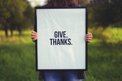 show residents gratitude this thanksgiving