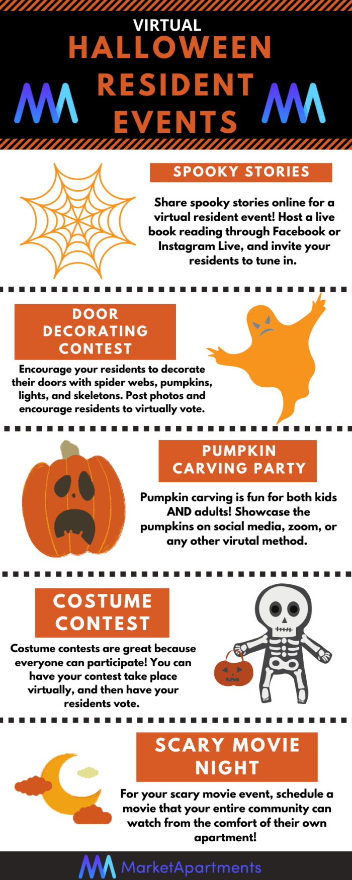 Halloween Virtual Resident Events