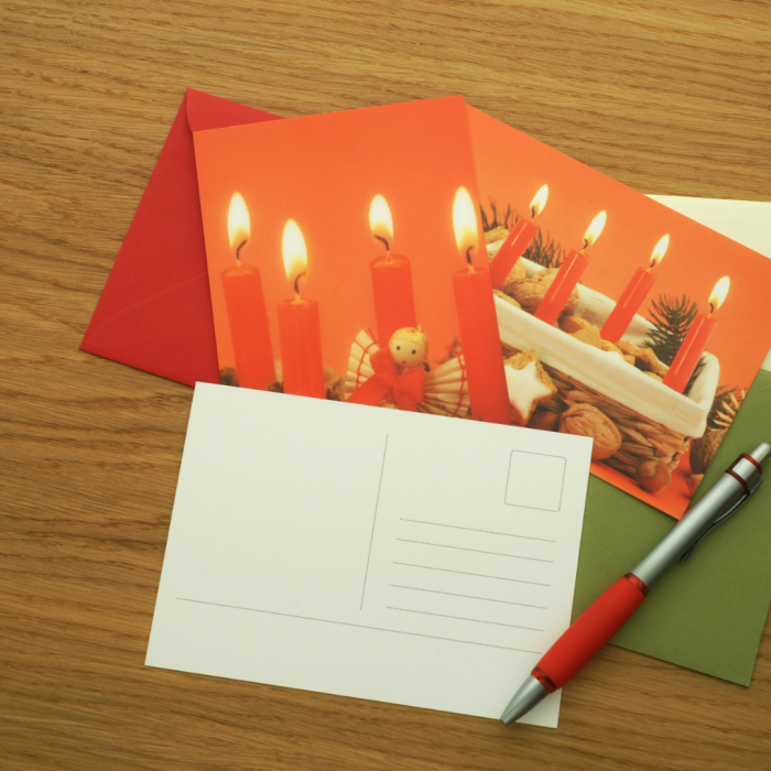 Christmas Card Decorating | Resident Retention Events