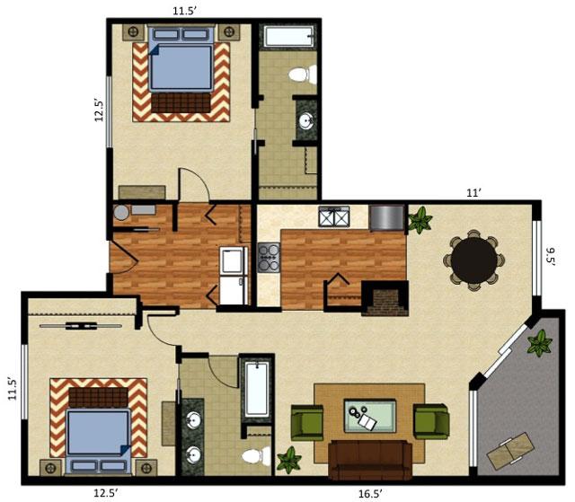 Orchard Place Apartments: Orchard Place Apartments - Idaho