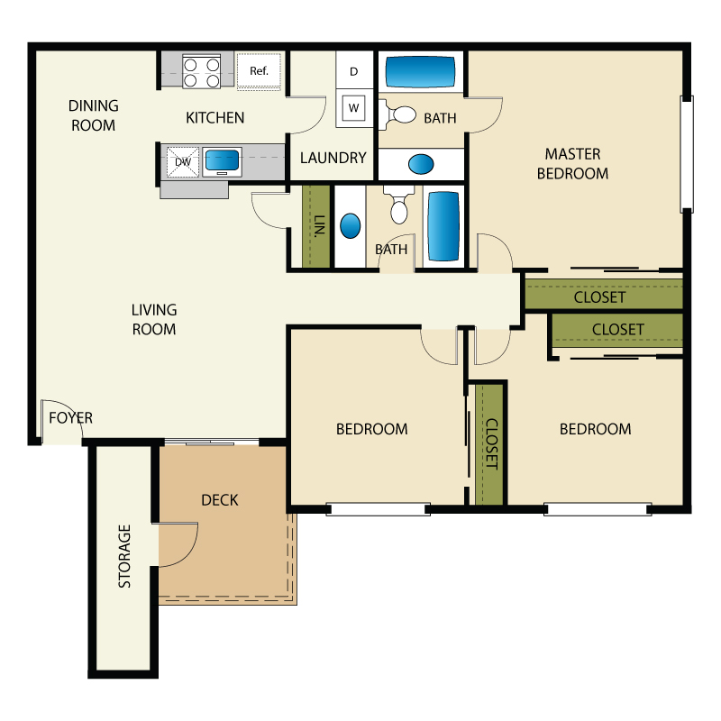 Brighton Place Apartments - Utah