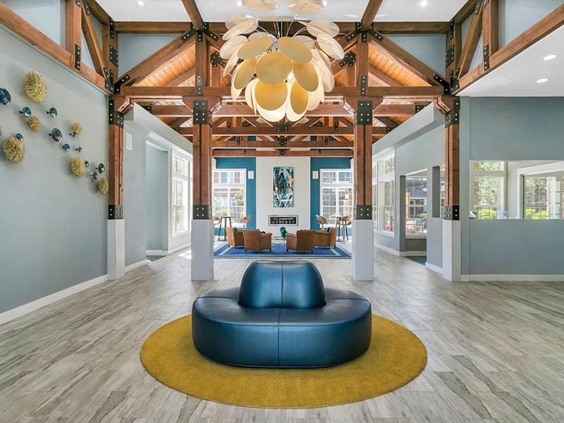 Clubhouse Interior | Crestone Apartments in Aurora, CO
