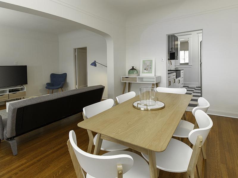 Living Room | Hillcrest Apartments in Salt Lake City, UT