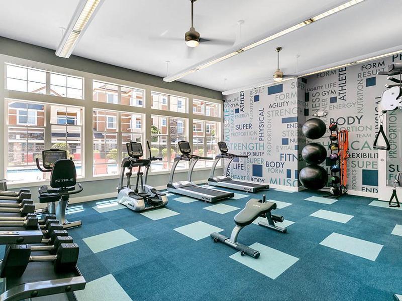 Fitness Center | Crestone Apartments in Aurora, CO