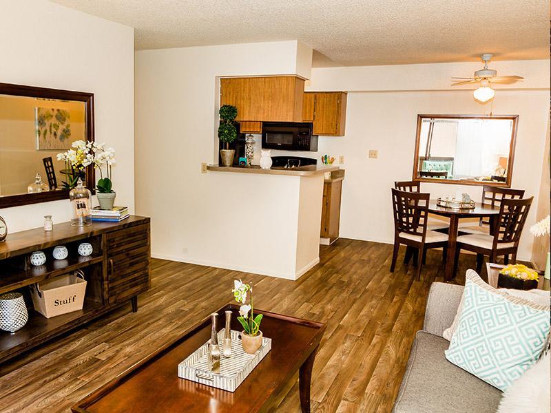 Living Room | Willowcreek Apartments Tempe, AZ