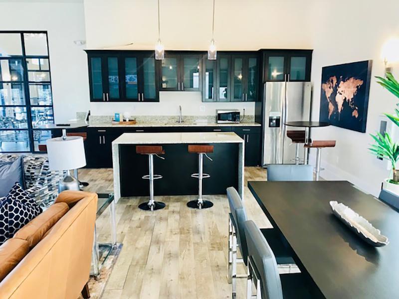 Clubhouse kitchen | Legacy Ridge Apartments