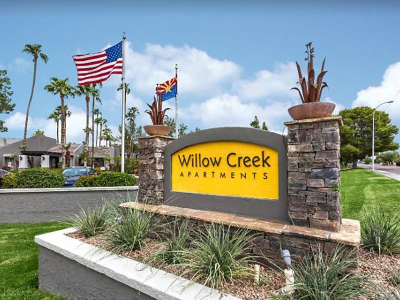 Welcome Sign | Apartments in Tempe, AZ