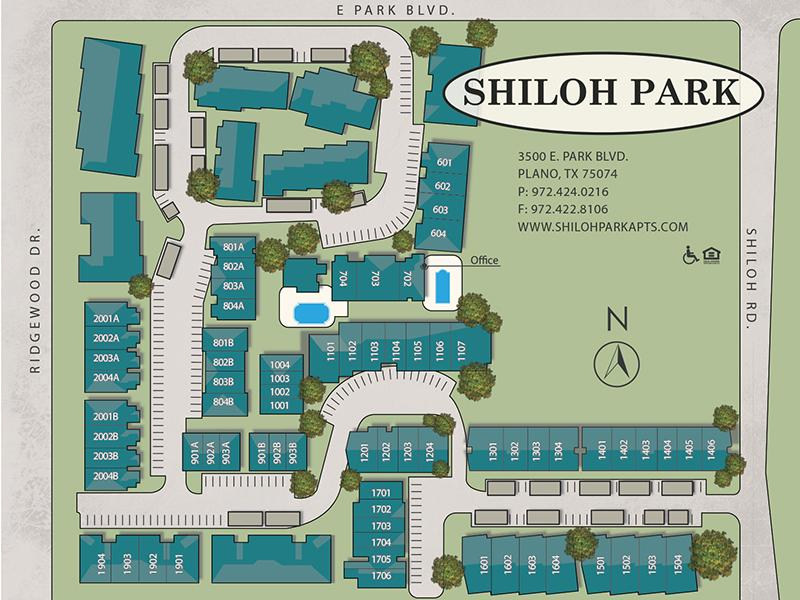 Site Map | Shiloh Park Townhomes