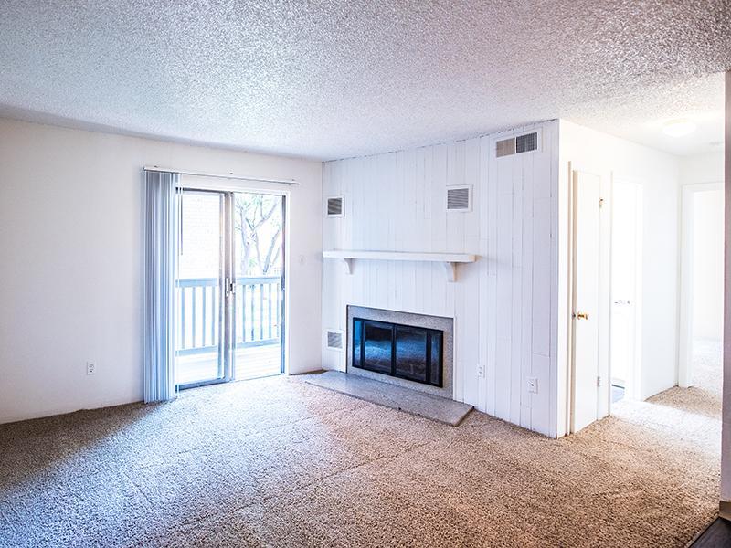 Living Room | Aspenwood Apartments