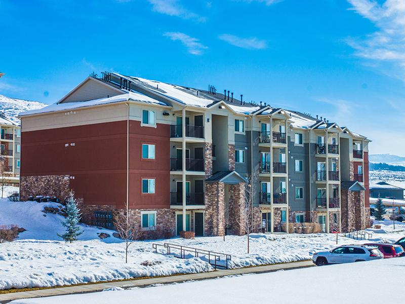 Building Exterior | Wasatch Commons Apartments in Heber City UT