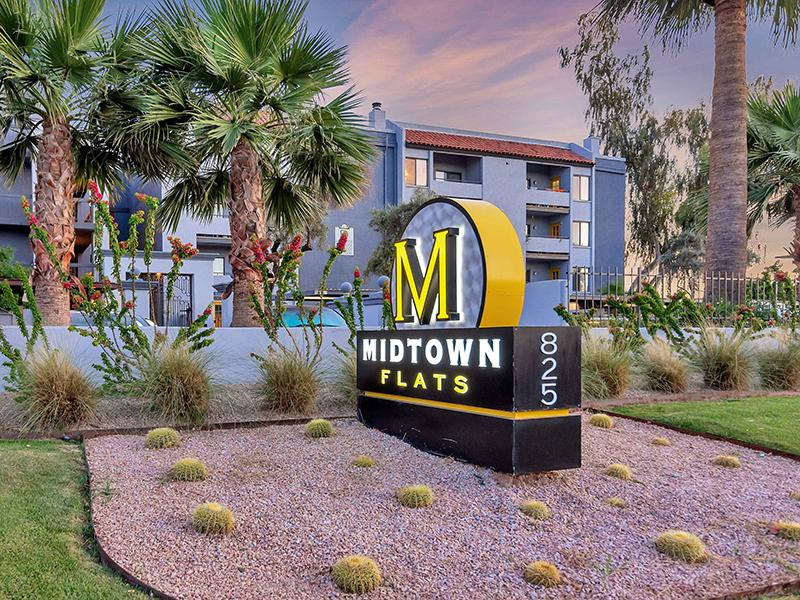 Welcome Sign | Midtown Flats in Phoenix, AZ