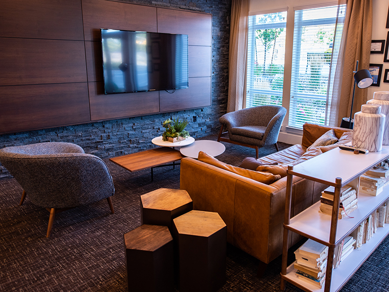 Resident Lounge | Artesian Springs Apartments