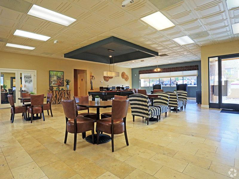 Club House Interior | Desert Ridge Apartments