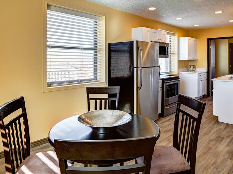 Dining Room & Kitchen | Bigelow Apartments