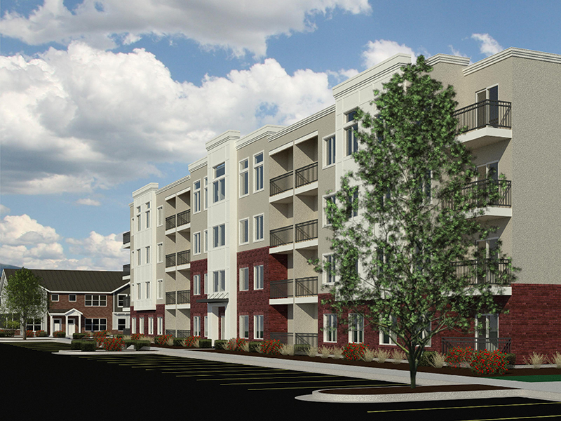 Building Rendering | Station on 17th