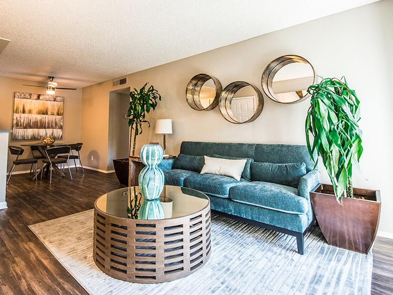 Living Room | The Vue Apartments