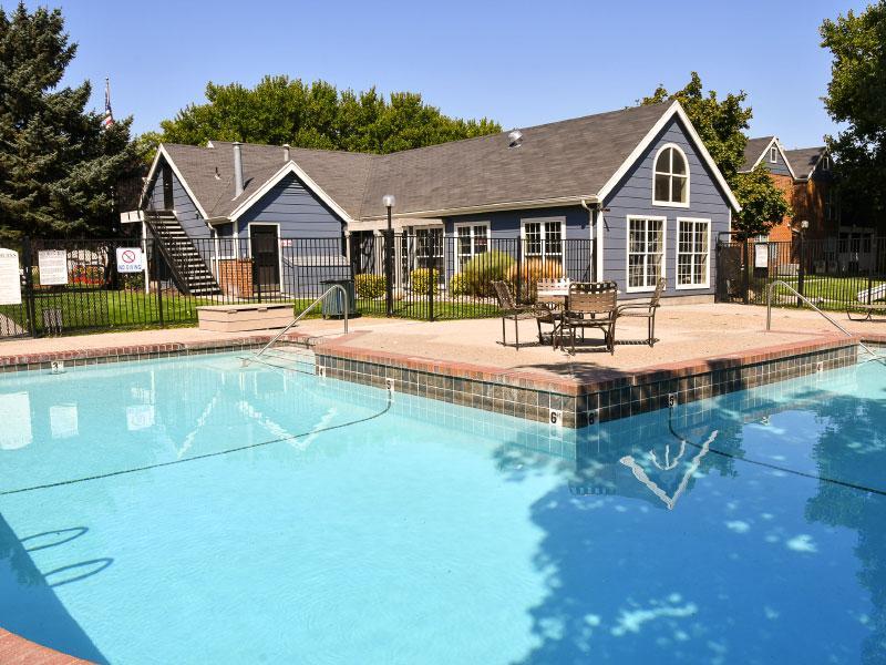 Village at Raintree APTs | Exterior Pool | SLC, UT