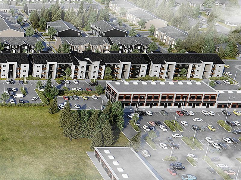 Building   Kestrel Park
