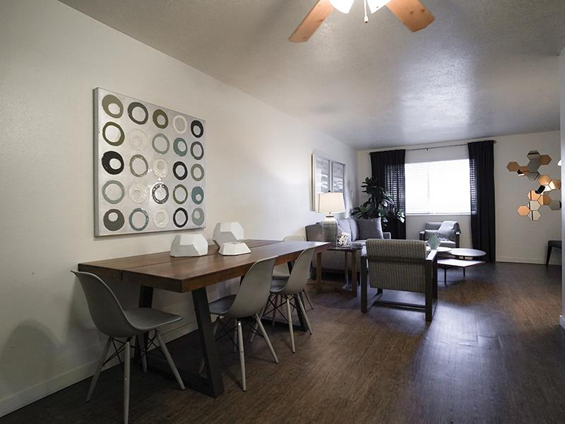 Living Room | Goldstone Place Apts