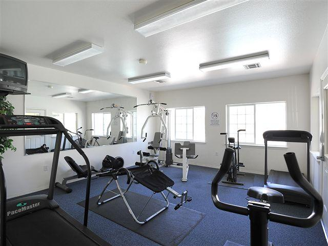 Fitness Center | Courtyard at Ridgecrest