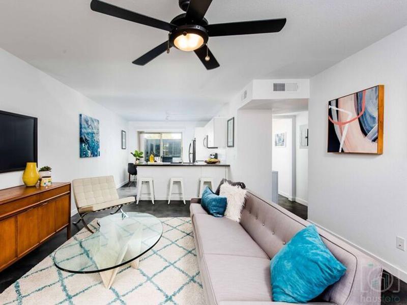 Living Room | Fairmount Villas