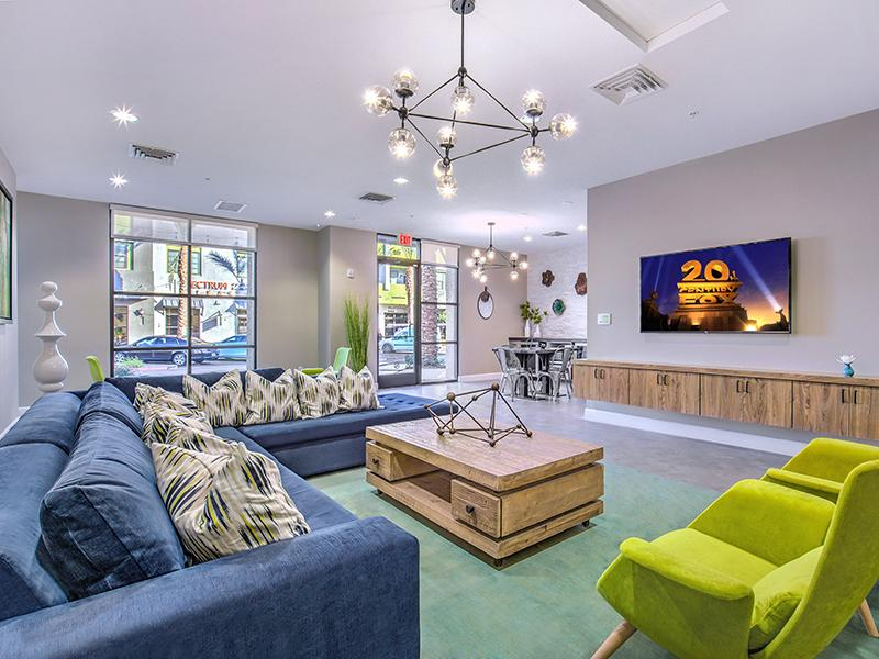 Clubhouse | Theater | Spectrum Apartments