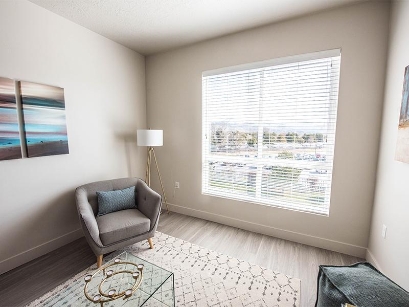 Living Room | District North Apartments