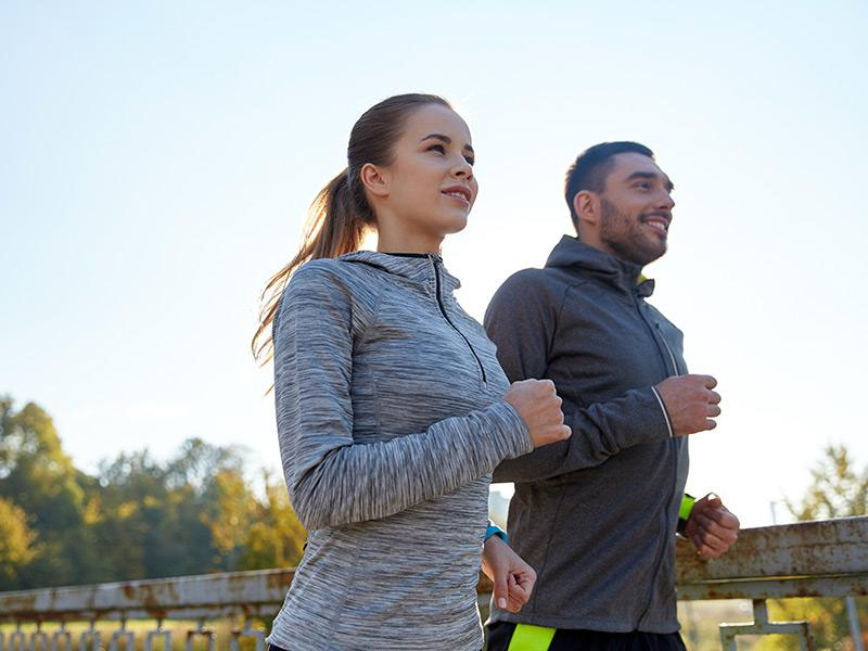 Outdoor Running Trails - Neighborhood