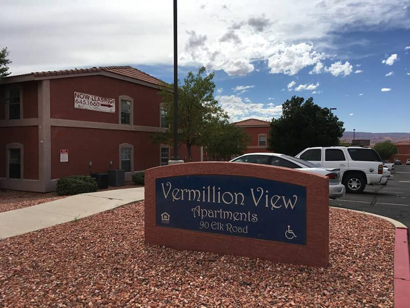 Welcome Sign | Vermillion View Apartments