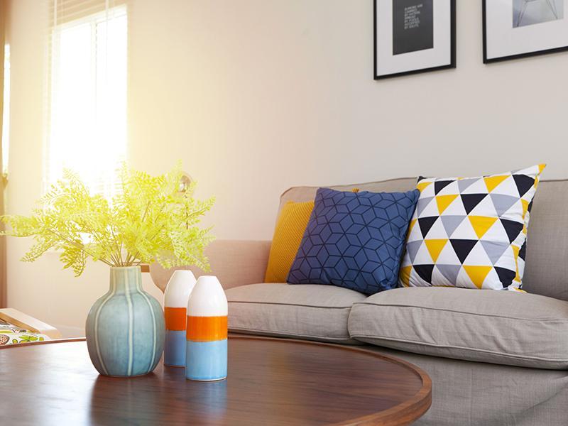 Living Room | Echo Point Apartments in La Mesa, CA
