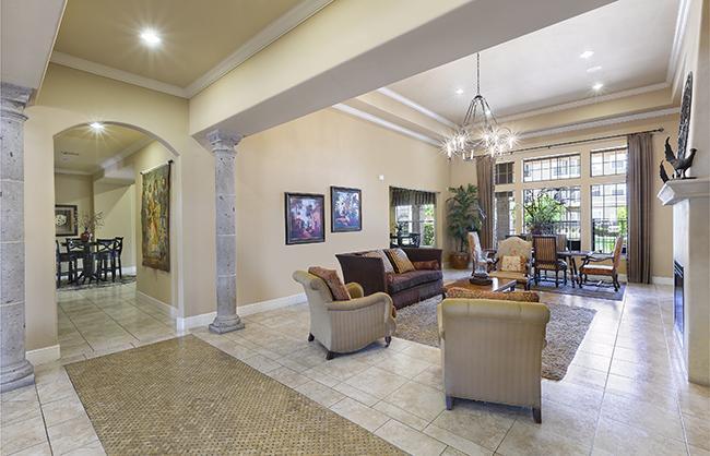 Clubhouse Interior - The Falls - San Antonio, Texa