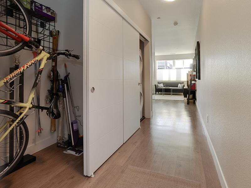 Entry | Storage Closet | Boulder View Apartments