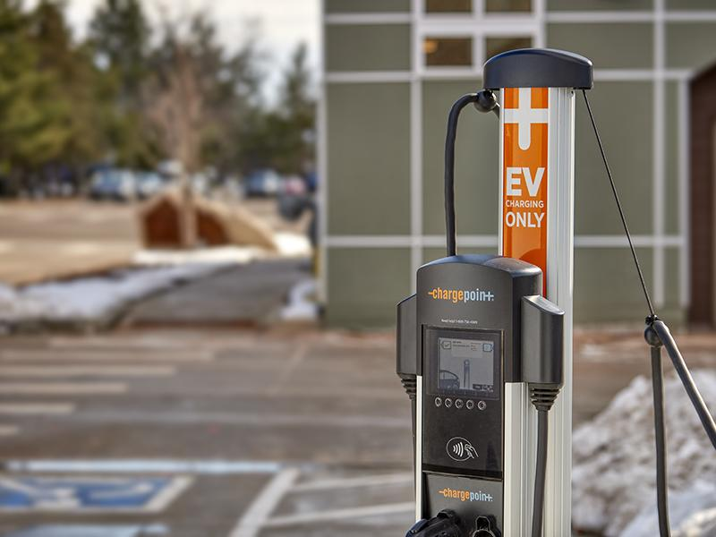 Charging Station   Boulder View Apartments
