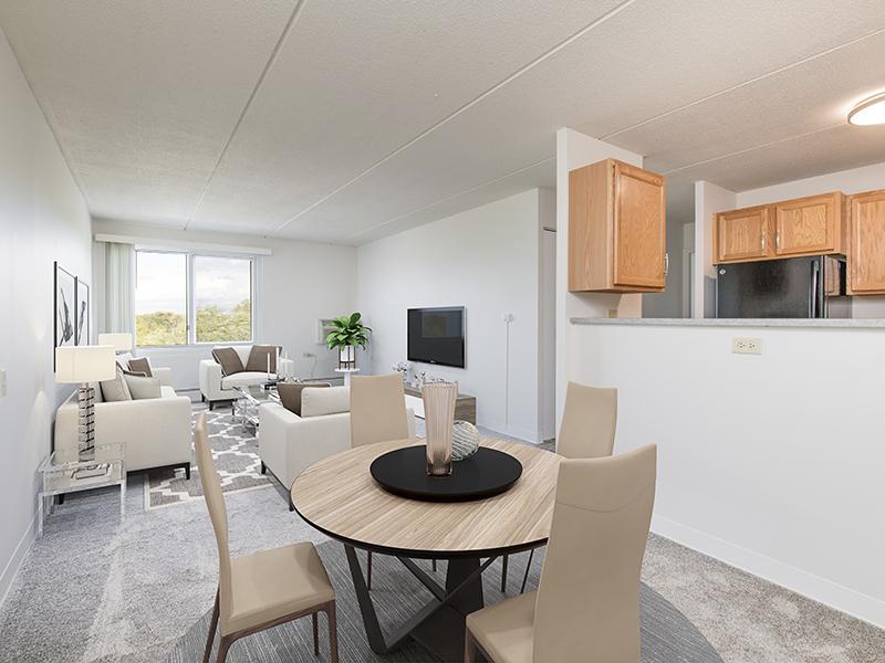 Dining Area & Living Room | Centennial South