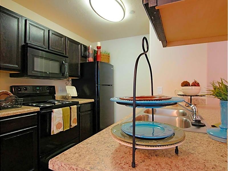 Black Appliances | eGate Apartments in West Valley, UT