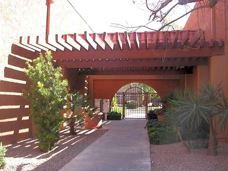 Secured Entry   Park Paloma